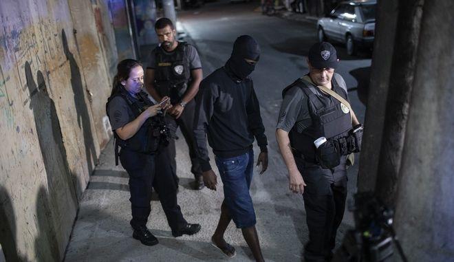 Σύλληψη από την αστυνομία της Βραζιλίας (φωτογραφία αρχείου)