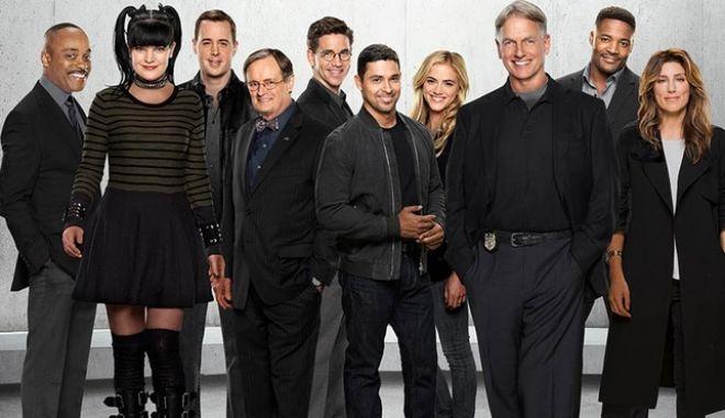 Φωτογραφία από το καστ της σειράς κατά την 14η σεζόν