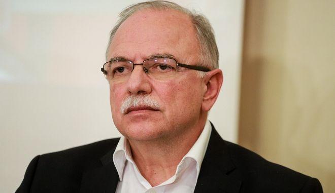 Ο Αντιπρόεδρος του Ευρωκοινοβουλίου και επικεφαλής ευρω-ομάδας ΣΥΡΙΖΑ, Δημήτρης Παπαδημούλης