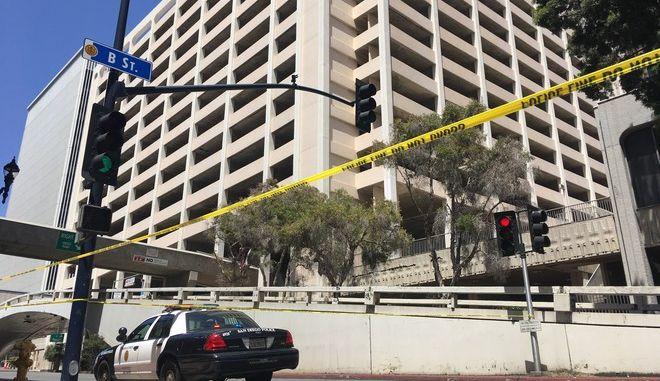 Αστυνομία στο Σαν Ντιέγκο της Καλιφόρνια
