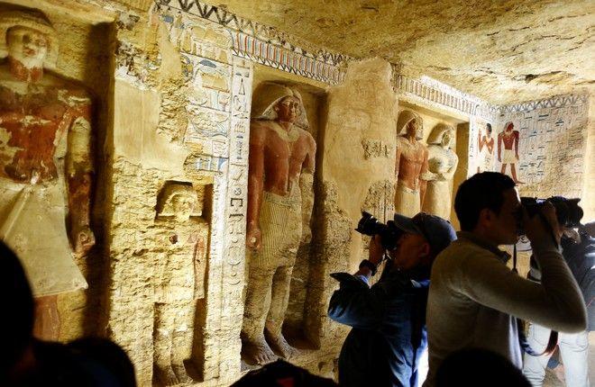 Ανακαλύφθηκε τάφος ιερέα 4.400 χρόνων στην Αίγυπτο