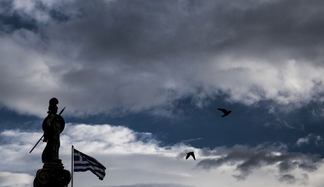 Stormy winds all over Greece on January 14, 2015 /    ,  14 , 2015