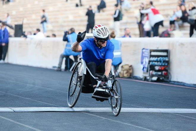 Αθλητές με αναπηρία στέλνουν δυνατό μήνυμα στον 36ο Αυθεντικό Μαραθώνιο της Αθήνας