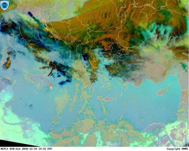 Προϊόν παρακολούθησης ηφαιστειακής τέφρας. Βασίζεται στα υπέρυθρα κανάλια των μετεωρολογικών δορυφόρων METEOSAT του οργανισμού EUMETSAT. Είναι σχεδιασμένο να ανιχνεύει τέφρα και διοξείδιο του Θειου (802) από ηφαιστειακές εκρήξεις.