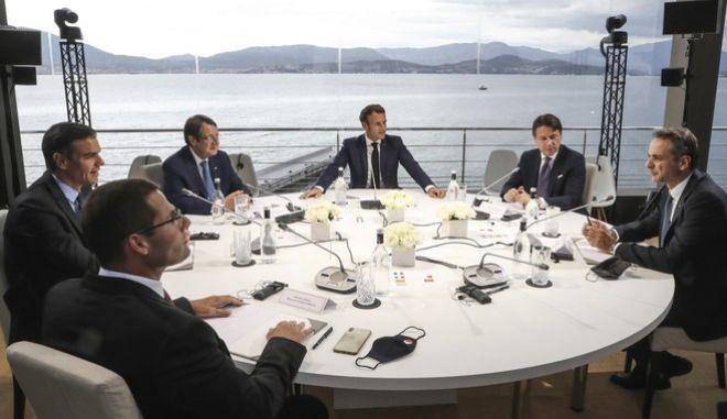 Σύνοδος των επτά Μεσογειακών χωρών της Ε.Ε