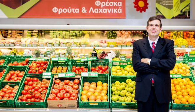O Αριστοτέλης Παντελιάδης, Διευθύνων Σύμβουλος της Μetro - My Market