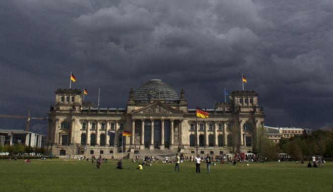 Το γερμανικό κοινοβούλιο.