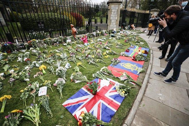 Φόρος τιμής από τους Βρετανού στον Πρίγκιπα Φίλιππο