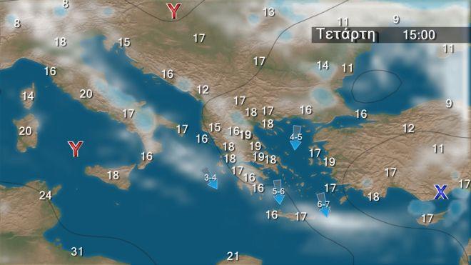 Καιρός: Βροχές διαρκείας σήμερα και μέχρι την Τετάρτη