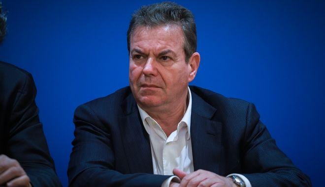 Ο υφυπουργός Κοινωνικής Ασφάλισης Τάσος Πετρόπουλος