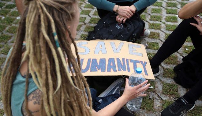 Μαθητική πορεία στην Αθήνα για το κλίμα