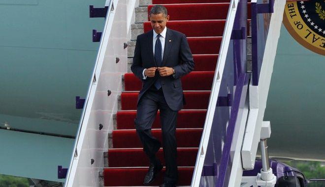Επίσκεψη Ομπάμα: Απαγορεύτηκαν οι πορείες και οι συγκεντρώσεις στην 'κόκκινη ζώνη'