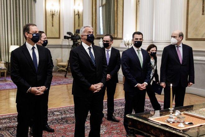 Ορκωμοσία των νέων υπουργών και υφυπουργών της κυβέρνησης