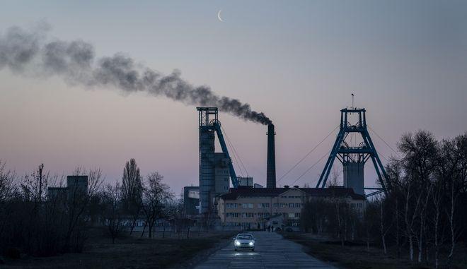 Ανθρακωρυχείο της ανατολικής Ουκρανίας