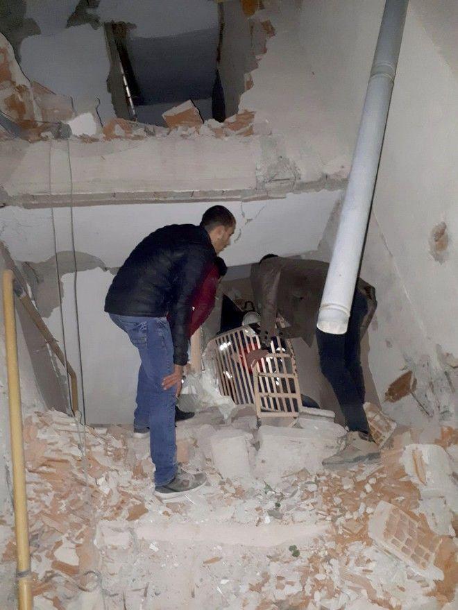 Σεισμική δόνηση 6,8 Ρίχτερ στην Ανατολική Τουρκία