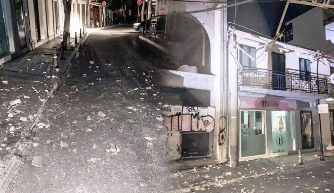 Υλικές ζημιές από τον σεισμό στη Ζάκυνθο