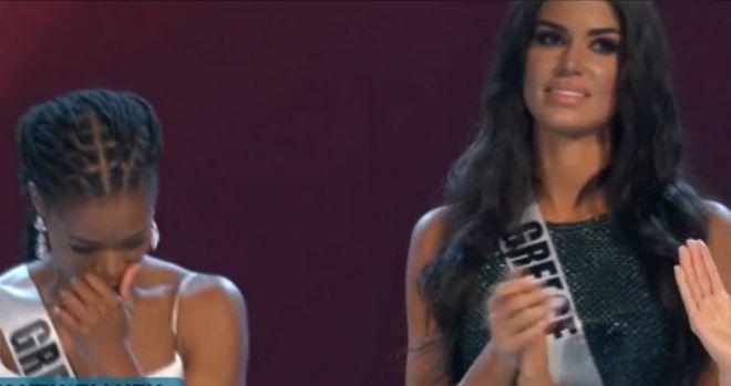 Η Ιωάννα Μπέλλα στα Miss Universe