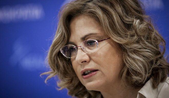 H Εκπρόσωπος Τύπου της Νέας Δημοκρατίας, Ευρωβουλευτής, Μαρία Σπυράκη