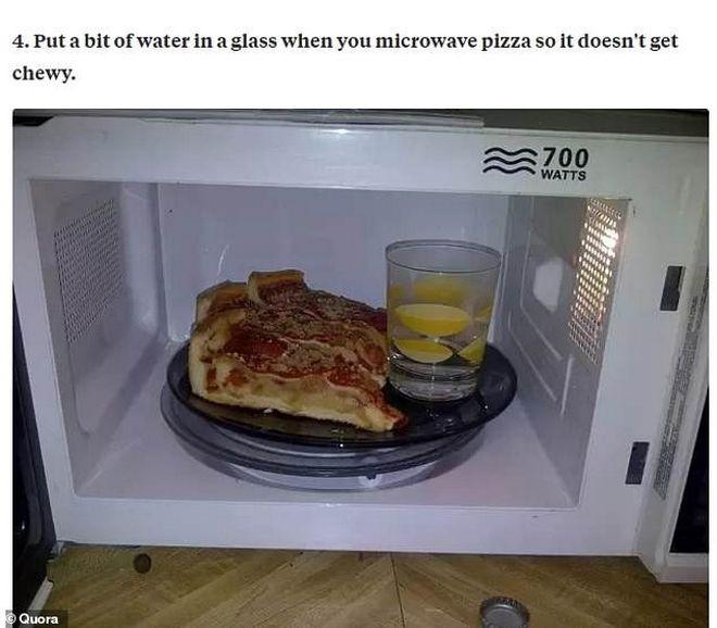 Πως να ξαναζεστάνεις την πίτσα