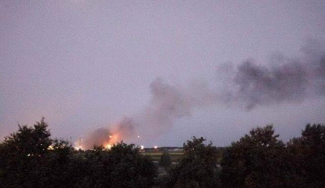 Συναγερμός στην Ιταλία: Έκρηξη σε διυλιστήρια της ΕΝΙ