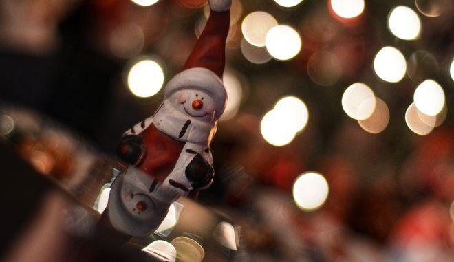 Χριστουγεννιάτικο στολίδι (ΦΩΤΟ Αρχείου)