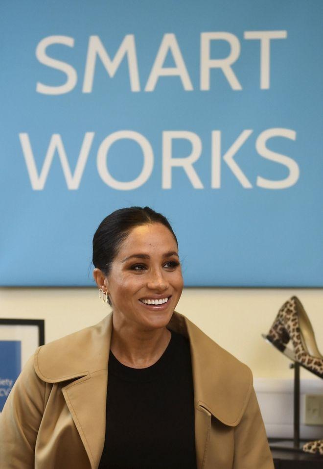 Η Μέγκαν Μάρκλ έγινε ανάδοχος της οργάνωσης Smart Works