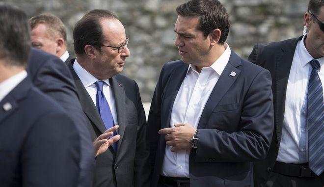Ο πρωθυπουργός Αλέξης Τσίπρας στην άτυπη σύνοδο των 27 αρχηγών κρατών και κυβερνήσεων της Ε.Ε., στην Μπρατισλάβα την Παρασκευή 16 Σεπτεμβρίου 2016. (EUROKINISSI/ΓΡΑΦΕΙΟ ΤΥΠΟΥ ΠΡΩΘΥΠΟΥΡΓΟΥ/ANDREA BONETTI)