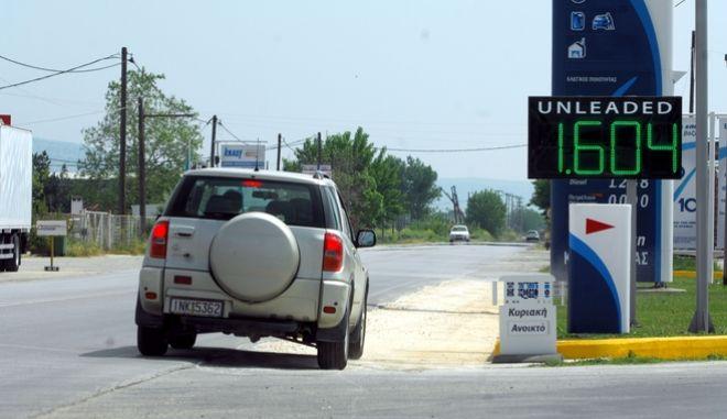 Ληστεία σε βενζινάδικο (φωτό αρχείου)
