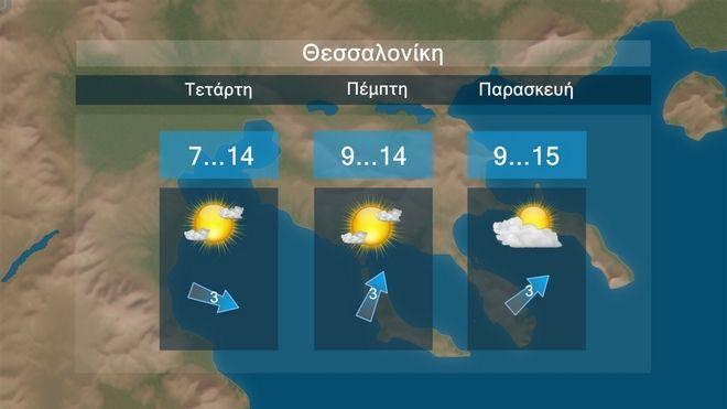 Καιρός: Τοπικές βροχές με βελτίωση από την Πέμπτη