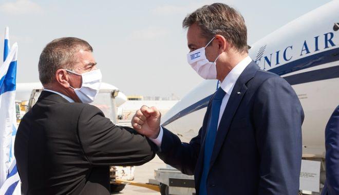 Επίσκεψη του Πρωθυπουργού Κυριάκου Μητσοτάκη στο Ισραήλ