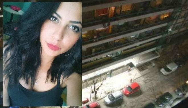 Η Γαλήνη Κοεμτζή που έπεσε στο κενό από τον 9ο όροφο της φοιτητικής εστίας στο κέντρο της Θεσσαλονίκης