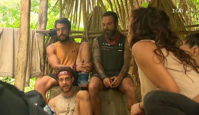 """Survivor: Πρώτο αγώνισμα χωρίς Τζέιμς και Νίκο - Ποια ομάδα """"σάρωσε"""""""