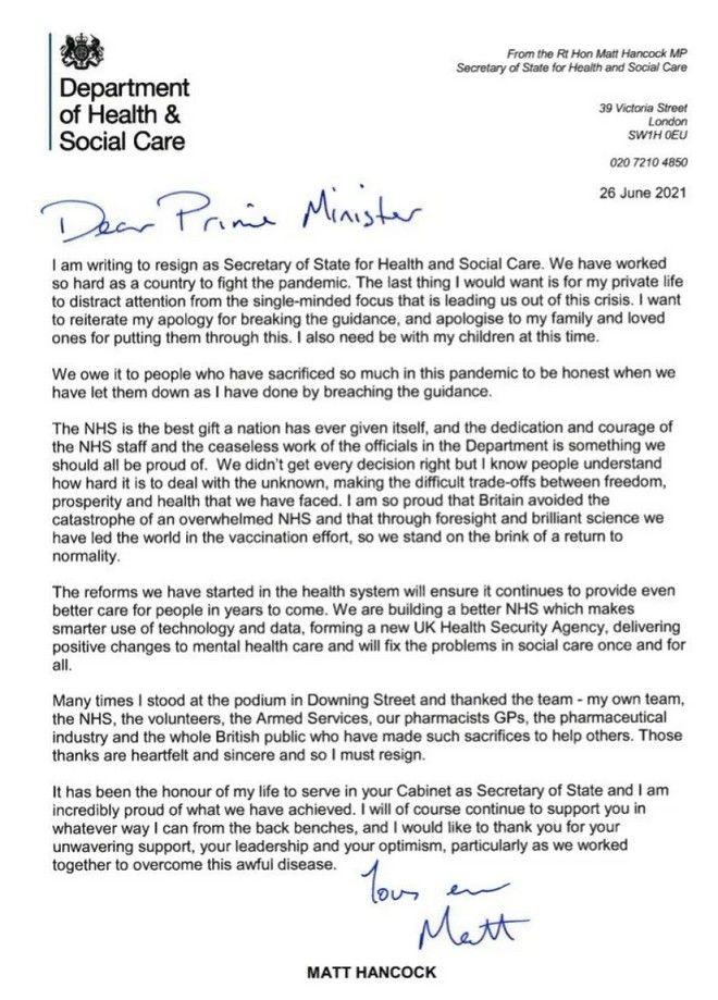 Βρετανία: Νέος υπουργός Υγείας ο Σατζίντ Τζάβιντ