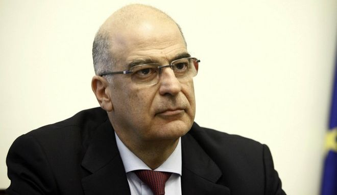 O κοινοβουλευτικός εκπρόσωπος της ΝΔ, Νίκος Δένδιας