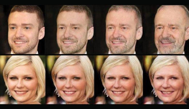 Δείτε πώς θα είναι το πρόσωπό σας σε 30 χρόνια