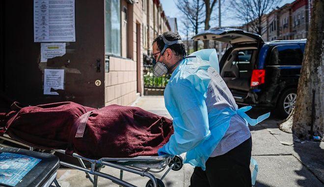 Μεγάλος αριθμός θανάτων από κορονοϊό στις ΗΠΑ