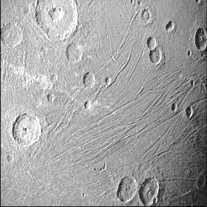Γανυμήδης, δορυφόρος του Δία