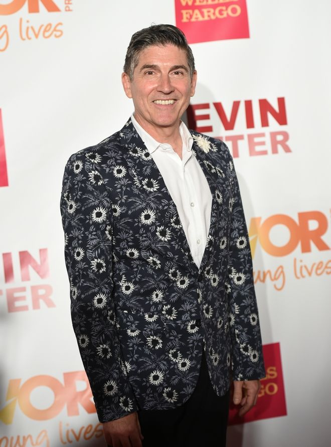 The Trevor Project founder James Lecesne attends TrevorLIVE New York to benefit The Trevor Project at the Marriott Marquis on Monday, June 15, 2015, in New York. (Photo by Evan Agostini/Invision/AP)