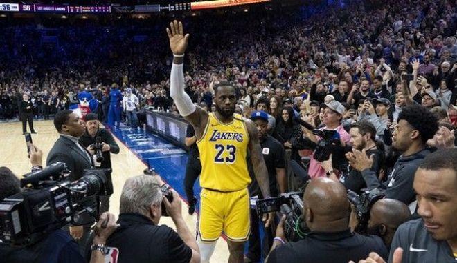 Λεμπρόν Τζέιμς: Τρίτος σκόρερ στην ιστορία του NBA, ξεπέρασε τον Κόμπι