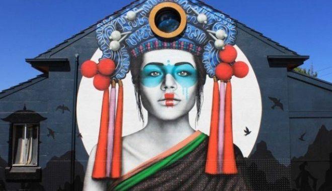 """Αυστραλία: Ο καλλιτέχνης της street art, Fin DAC, """"ξαναχτυπά"""" σε νηπιαγωγείο"""