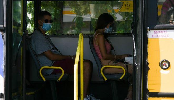 Εικόνα από λεωφορείο