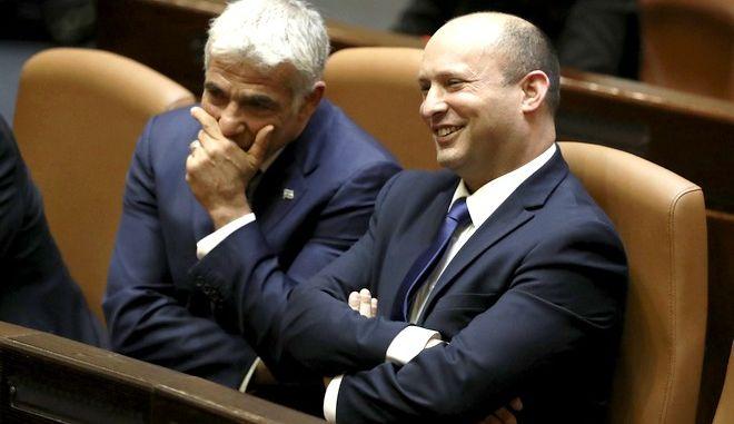 Ο νέος πρόεδρος του Ισραήλ δεξιά