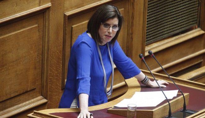 'Κότες' αποκάλεσε τους οικολόγους του ΣΥΡΙΖΑ η Ασημακοπούλου