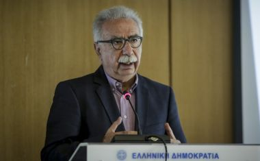 """Παρουσίαση της έκθεσης του ΟΟΣΑ με τίτλο """"Εκπαίδευση για ένα Λαμπρό Μέλλον στην Ελλάδα"""" στο Υπουργείο Παιδείας, Έρευνας και Θρησκευμάτων την Πέμπτη 19 ΑΠριλίου 2018. Την έκθεση παρουσίασαν ο  Υπουργός Παιδείας, Έρευνας και Θρησκευμάτων Κώστας Γαβρόγλου, η Gabriela Ramos, OECD Chief of Staff and Sherpa και ο Frank Van Driessche, Head of the Athens Office, Structural Reform Support Service / European Commission. (EUROKINISSI/ΣΤΕΛΙΟΣ ΜΙΣΙΝΑΣ)"""