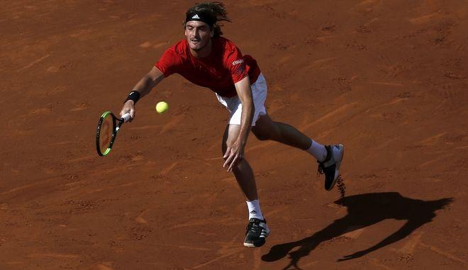 Ο τενίστας Στέφανος Τσιτσιπάς