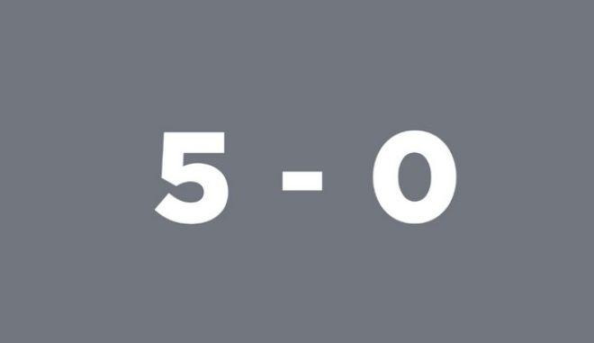 Το ποδοσφαιρικού τύπου '5-0' του Μητσοτάκη στο Twitter