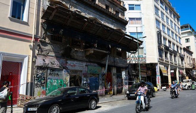 Εικόνα από την Αθήνα μετά τον σεισμό του Ιουλίου 2019