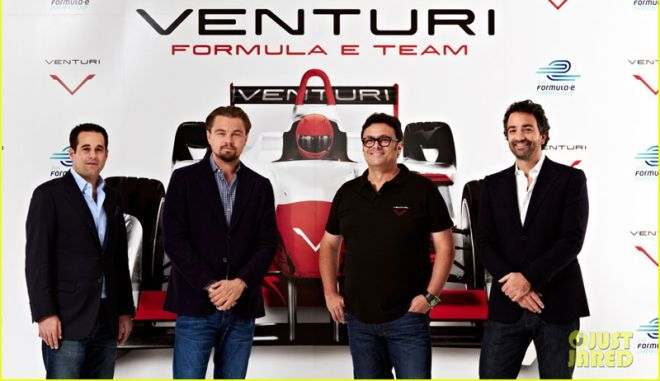 Ο Λεονάρντο Ντι Κάπριο χορηγός της Venturi στην Formula E