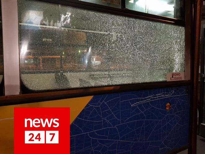 Συγγρού: Νέα επίθεση σε λεωφορείο του ΟΑΣΑ