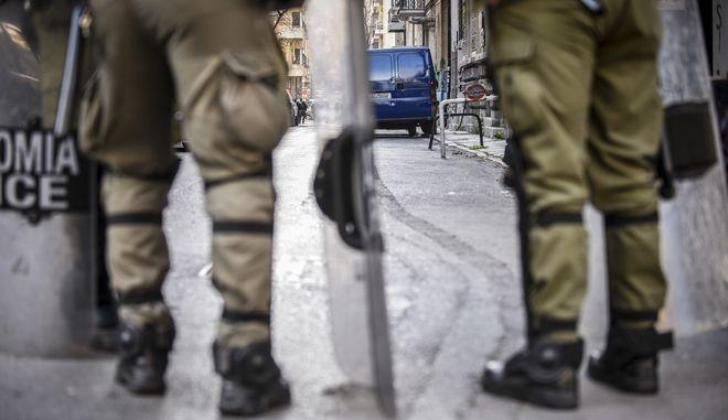 Αστυνομικοί στα Εξάρχεια